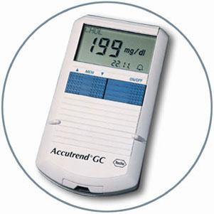 Глюкометр Accutrend GC
