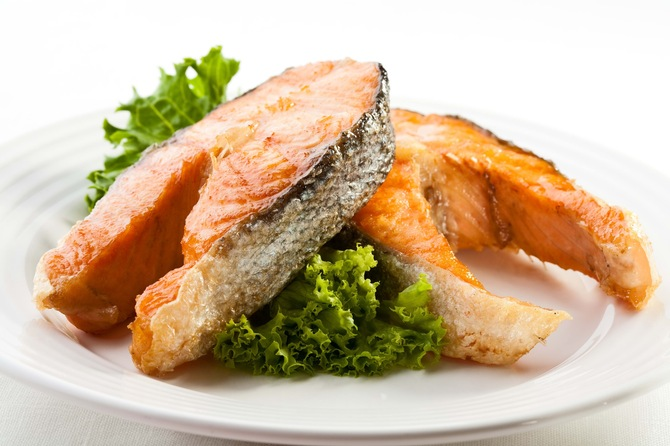 рыба подле диабете